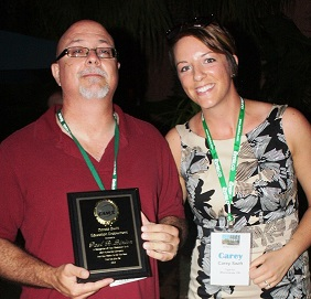 Paul Binion receives the Donald Swift Education Endowment (DSEE)